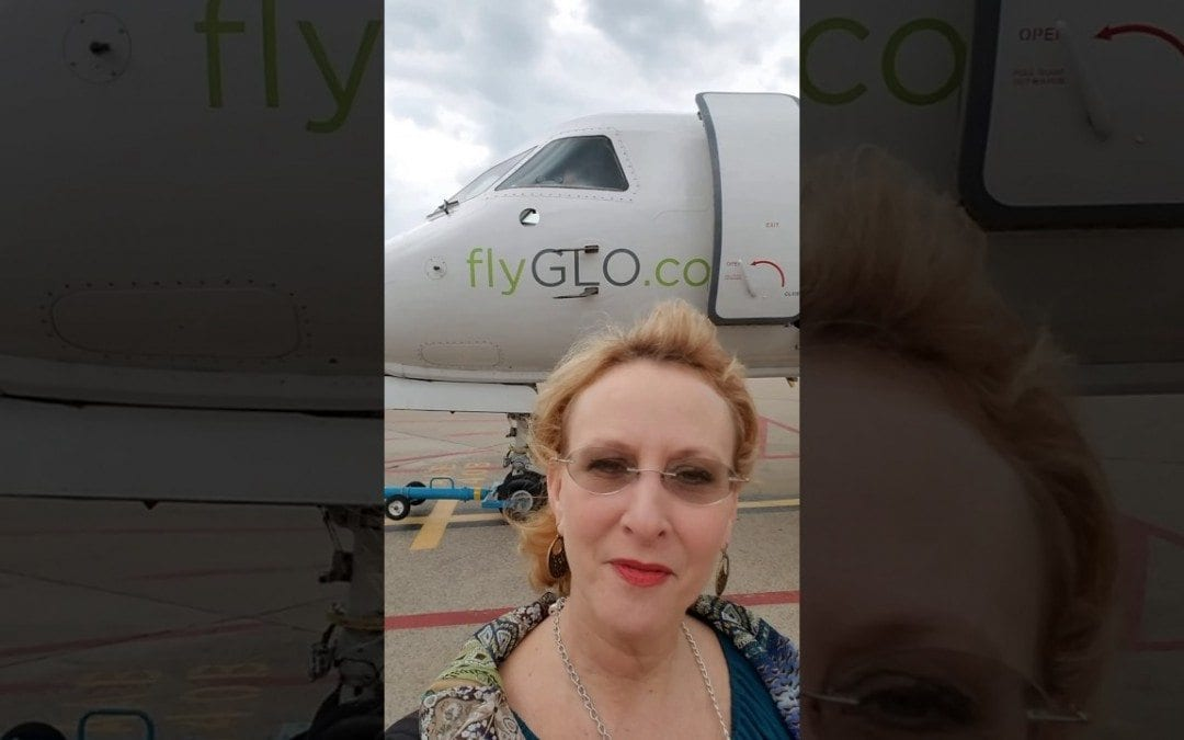 Flying on GLO from Huntsville to NOLA. Departure 3:00pm-arrival 4:45pm