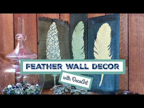 Feather Wall Decor – How To