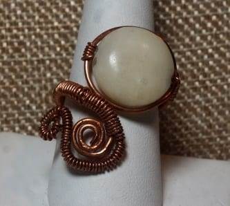 Adjustable Scroll Ring