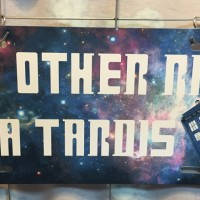 My Other Ride is a Tardis Car Tag