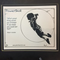 Power Shot Print